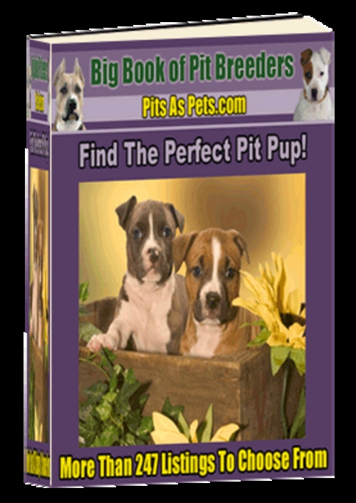 Pay for *New* Big Book Of Pit Breeders - ( Master Resell Rights )