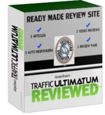 Pay for Ready Made Review Site : Traffic Ultimatum