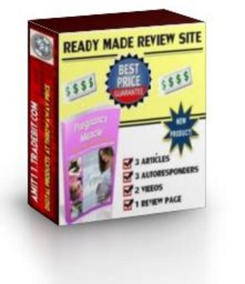 Pay for Ready Made Review Site : Pregnancy Miracle