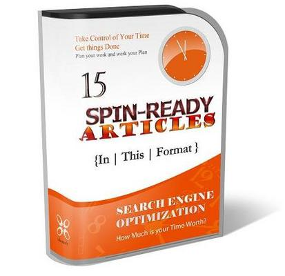 Pay for 15 Spin-Ready Articles - Search Engine Optimization