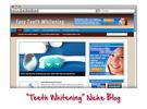 Thumbnail Teeth Whitening WordPress Blog