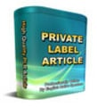 Thumbnail *NEW PLR* 62 Medicine Part8 PRL Article