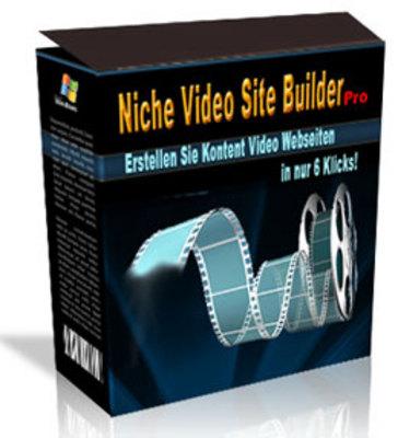 Pay for Niche Video Site Builder pro. Mit MRR Lizenz.