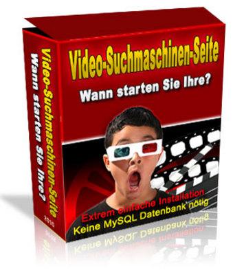 Pay for Video-Such-Maschine (deutsch mit MRR).