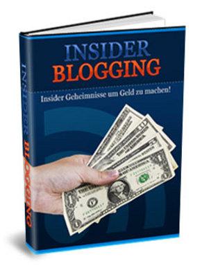 Pay for Insider Blogging. Mit PLR.