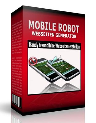 Pay for Mobile Robot Webseiten Generator. Mit PLR.