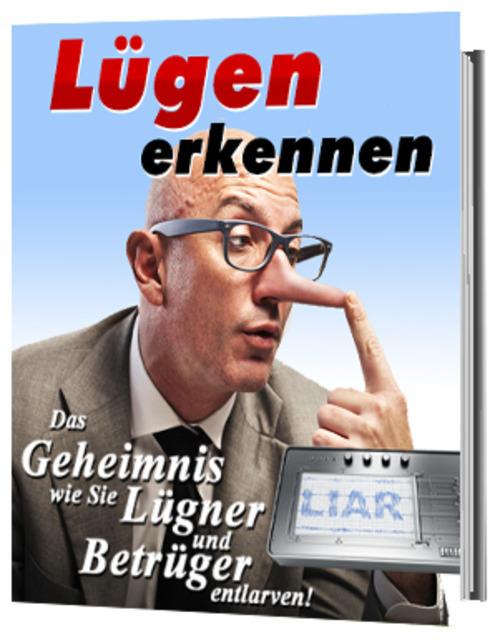 Pay for Luegen erkennen.