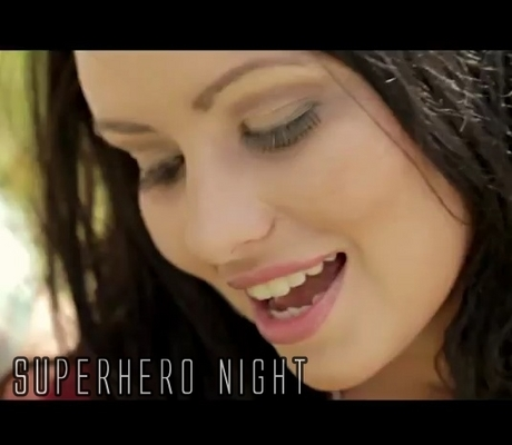 Pay for Superhero Night- Anne Marie Sunshine