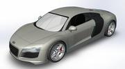 Thumbnail Audi R8 SolidWorks File