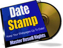 Thumbnail *NEW* Date Stamp Keep Your Webpages Up To Date MRR