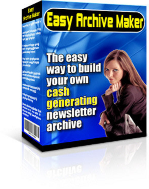 Pay for *NEW* Easy Archive Maker - Master Resale Rights