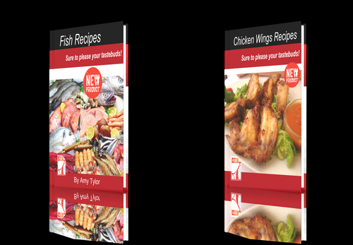 Pay for **NEW!**Two cookbooks-Chicken Wings Recipes + Fish Recipes.