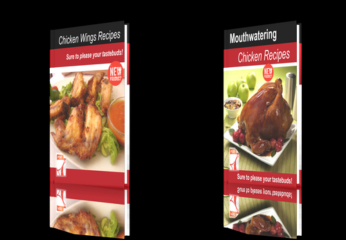 Pay for **NEW!**Two cookbooks-Chicken Recipes+Chicken Wings Recipes.