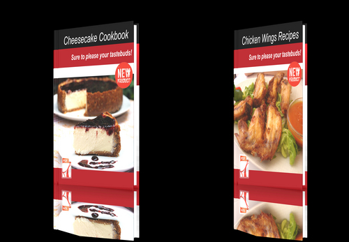 Pay for **NEW!**Two cookbooks-Chicken Wings Recipes+Cheesecake Cookb