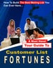 Thumbnail Customer List Fortunes-A must for aspiring entrepreneurs