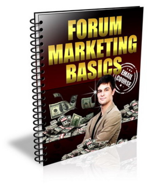 Pay for Forum Marketing Basics  +  PLR   +  Bonus   $2.95