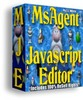 Thumbnail MsAgent Javascript Editor - With  Master Resell Rights