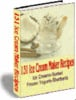 Thumbnail 131 Ice Cream Maker Recipes With Master Resale Rights