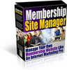 Thumbnail Membership Site Manager With Master Resalel Rights