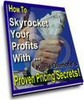 Thumbnail Proven Pricing Secrets With Master Resalel Rights
