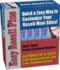Thumbnail Easy Resell Plus With Master Resalel Rights