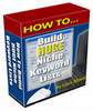 Thumbnail How to Build Huge Niche Keyword ListsWith Master RR