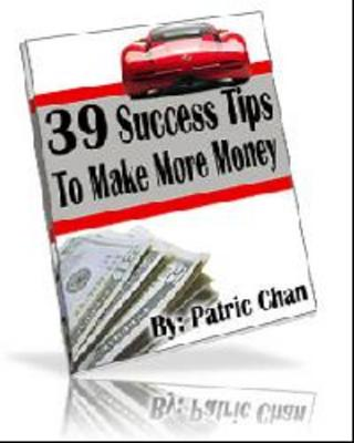 Pay for 39 Success Tips With Master Resalel Rights