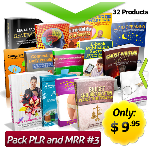 Pay for Master Collections Plr And Mrr! Hot Products #3