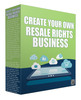 Thumbnail Create Your Own Resale Rights Business