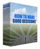 Thumbnail How to Make Good Decisions Podcast