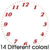 Thumbnail 14 Benguiat Font Clock Faces For Cafepress Clocks