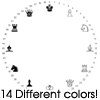 Thumbnail 14 Chess Clock Faces For Cafepress Clocks