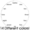 Thumbnail 14 Word Clock Faces For Cafepress Clocks