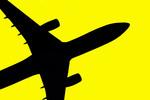 Thumbnail Flugzeug Silhouette 02