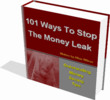 Thumbnail 101 ways to stop money leak PLR