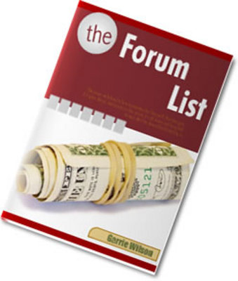 Pay for the forum list