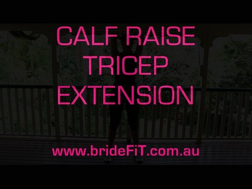Pay for brideFiT Calf & Tricep Exercise Video Tutorial