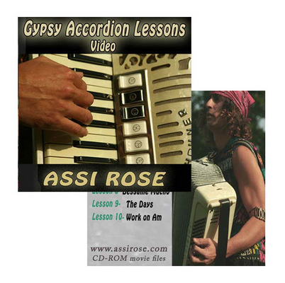 Pay for Gypsy Accordion Lessons for All Levles