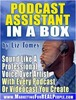 Thumbnail Podcast Assistant In A Box with MRR