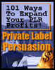 Thumbnail 101 Ways To Expand Your Private Label Profits! with MRR