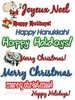 Thumbnail 140 Holiday Clipart Collection with MRR