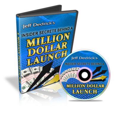 Pay for Jeff Dedricks Million Dollar Launch with MRR