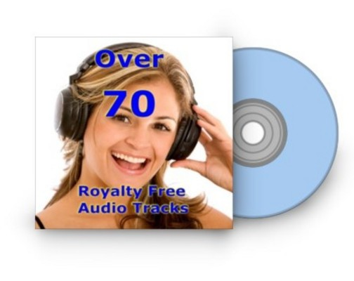 Pay for Over 70 Royalty Free Audio Tracks with MRR