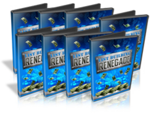 Pay for List Building Renegade Video Course with MRR