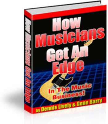 Pay for Get The Edge In The Music Business