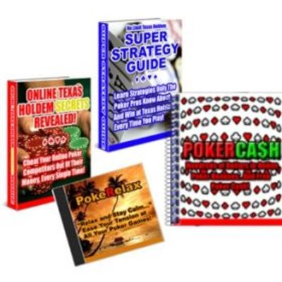 Pay for Texas Holdem Super Strategy Guide with MRR