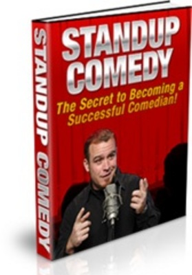 Pay for Stand Up Comedy Ebook with MRR