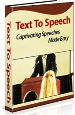 Pay for Text to Speech Ebook with MRR