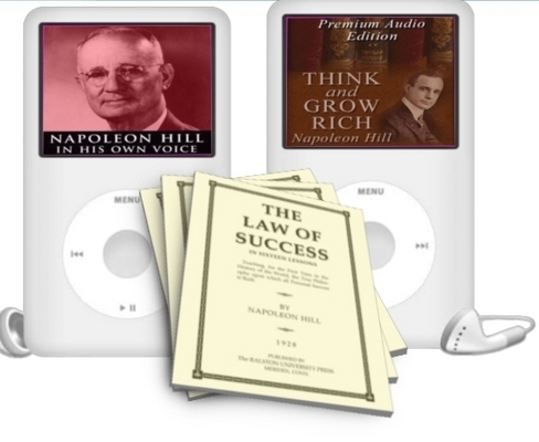 Pay for Napoleon Hill Audio and Ebook Collection with MRR