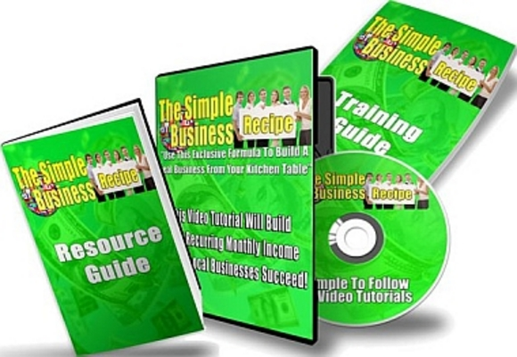 Pay for Simple Business Recipe Resale Rights